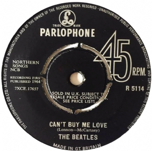 "Beatles (The) - Can't Buy My Love (7"") (G/NM)"